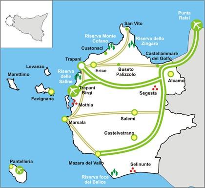 Dalla Regione due milioni di euro per il turismo nel trapanese