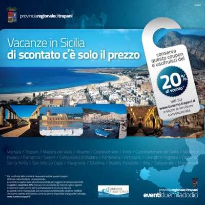 Hotel-Trapani.com distribuira' i voucher sconto 20 percento