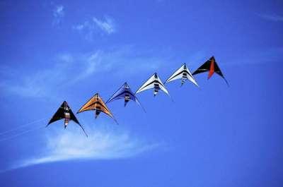 Children kites in San Vito lo Capo