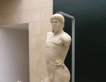 The Charioteer of Mozia will fly to London for the Olympic games