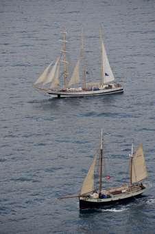 La Garibaldi Tall Ships approda a Trapani
