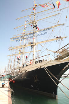 Tall Ships, solidarity ´and velaterapia