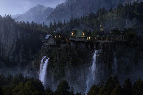 La Casa di Elrond  Rivendell - Rhudaur